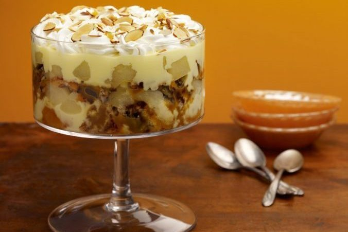 Cinnamon – Pear Trifle