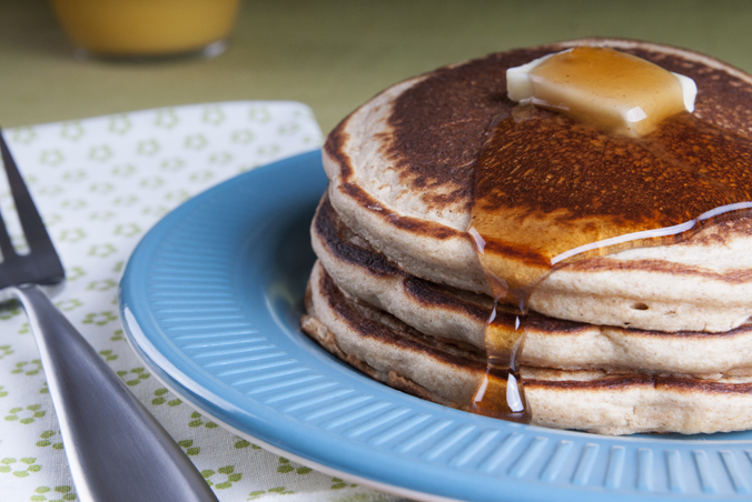light-as-a-feather pancakes