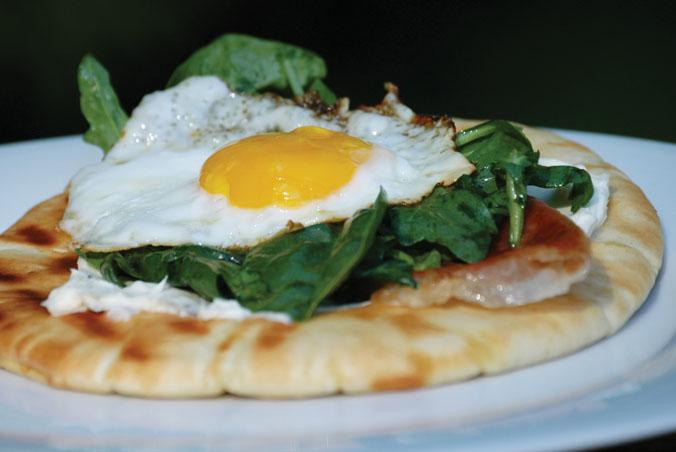 Breakfast Pitas