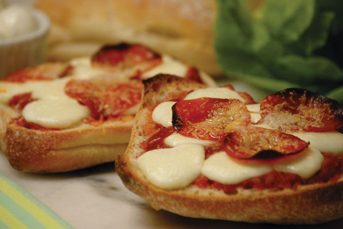 Ciabatta Pizzas